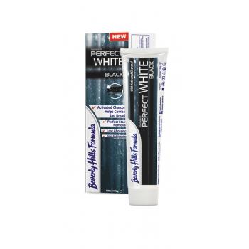 "Зубная паста Beverly Hills Formula Perfect White Black с активированным углём. Интернет-магазин ""Дента-плюс""."