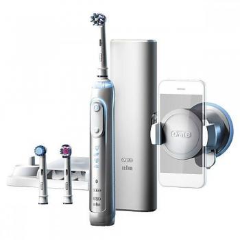 """Электрическая зубная щётка Oral-B Genius 8000 D701.535.5XC. Интернет-магазин """"Дента-плюс""""."""