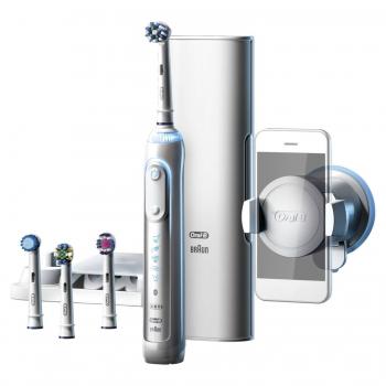 """Электрическая зубная щётка Oral-B Genius 9000 D701.545.6XC. Интернет-магазин """"Дента-плюс""""."""