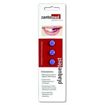 Таблетки для определения налета Zantomed plaquetest