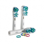 Насадки для электрических зубных щеток Oral-B Dual Clean EB417-3