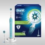 Электрическая зубная щетка Oral-B Pro 570 CrossAction (D16.524.U)